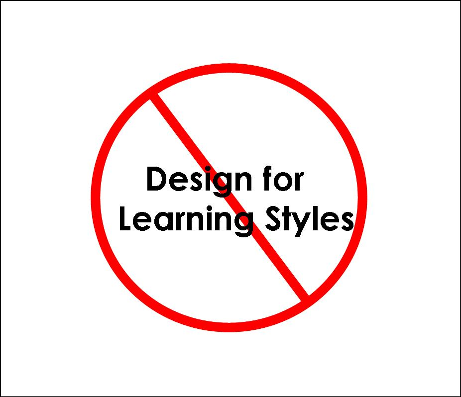 The Myth Of Learning Styles Debunked >> Debunking The Myth There Is No Such Thing As Learning