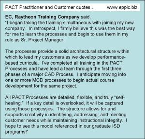 Quotes From Pact Clients And Practitioners Eppic Pursuing