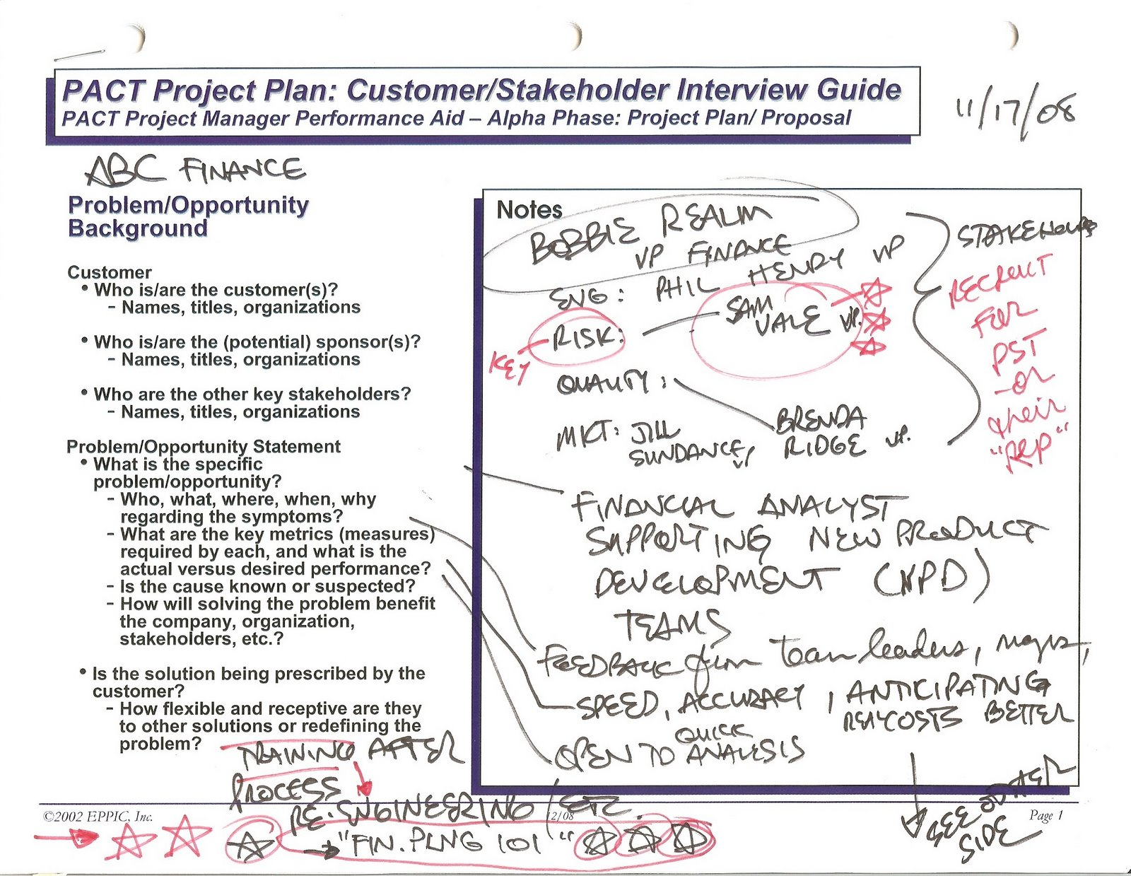 growthink s ultimate business plan template - the cad project plan template and link to the pact