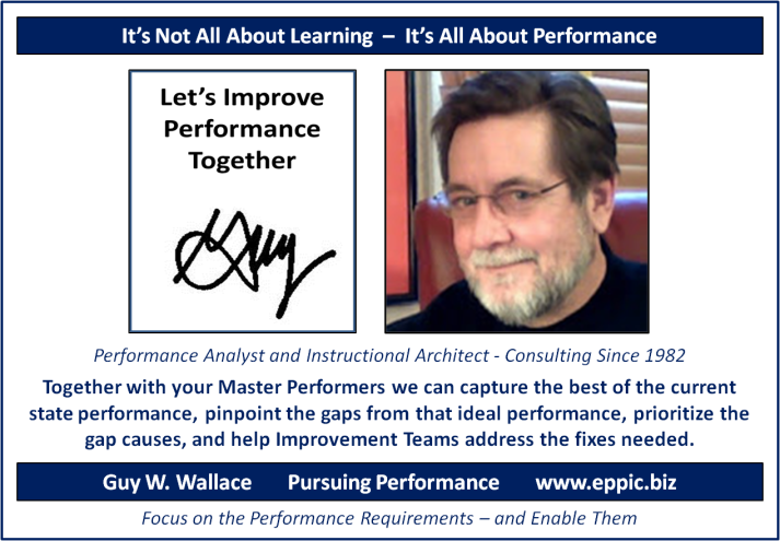 Lets Improve Performance Together