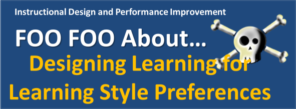 Foo Foo Banner- Learning Styles