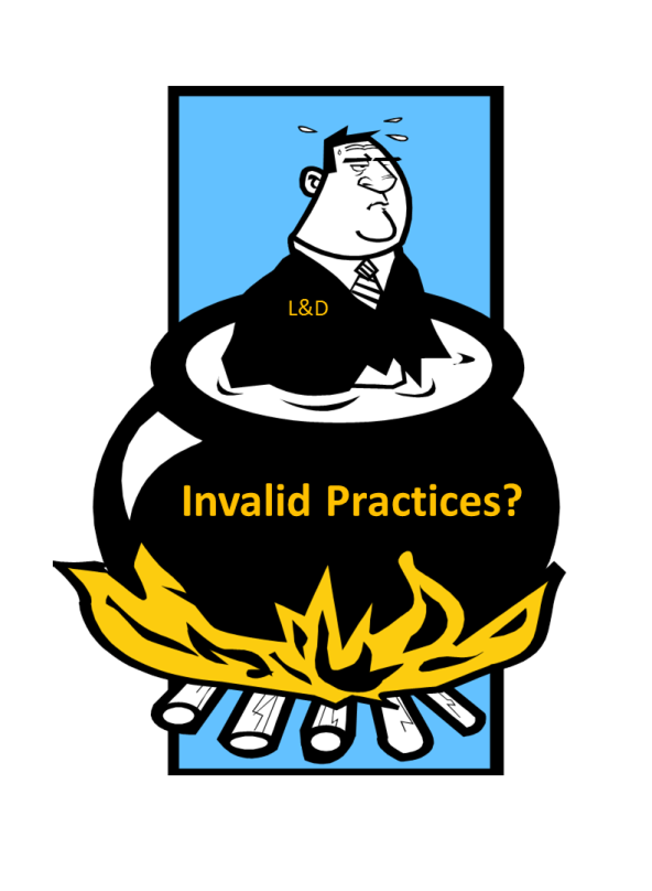 Invalid Practices b