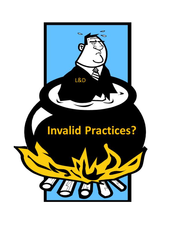Invalid Practices b