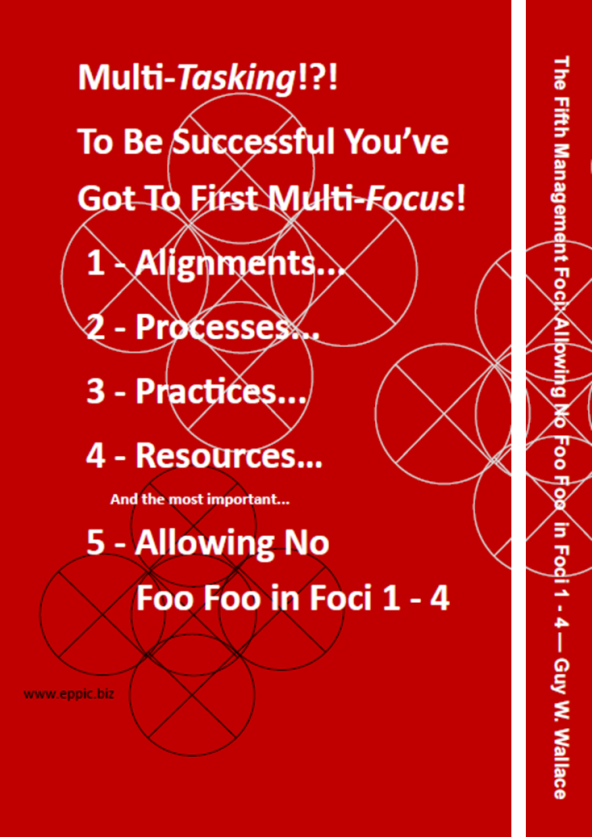 Fifth Management Foci - Book 2 Back Cover and Spine