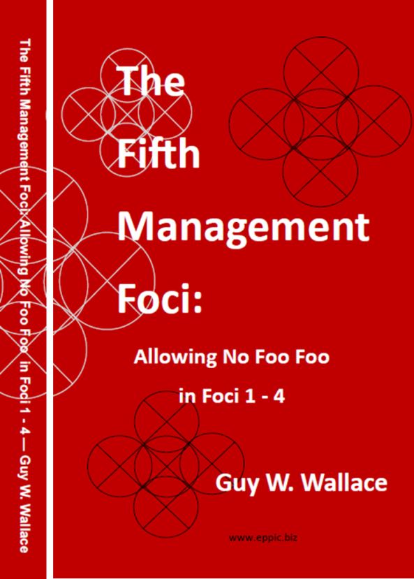 Fifth Management Foci - Book Cover and Spine