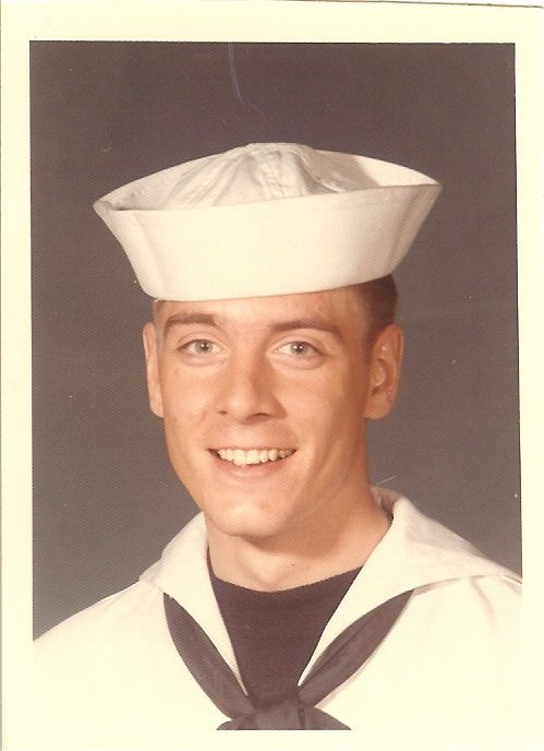 Guy in Boot Camp March 1972 Official USN Photo
