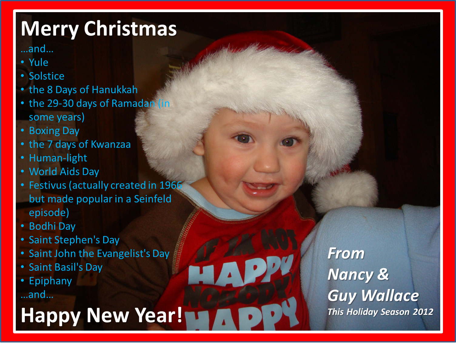 Merry Christmas Card 2012 | EPPIC - Pursuing Performance
