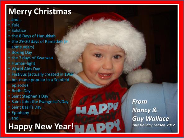 Merry Christmas Card 2012