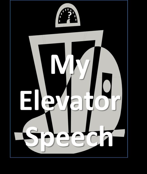 Elevator Speech 4