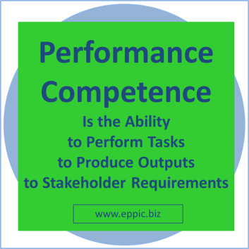Performance Competence graphic