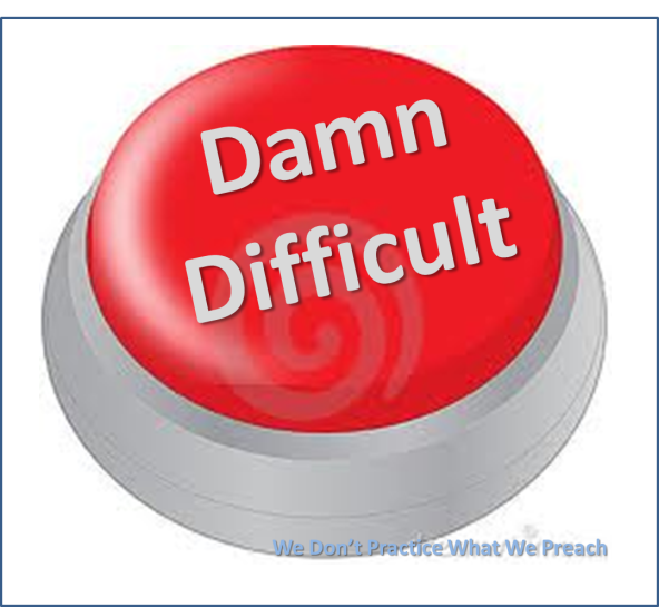 Damn Difficult Button
