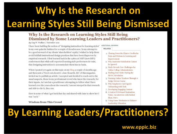 LS Research Still Ignored