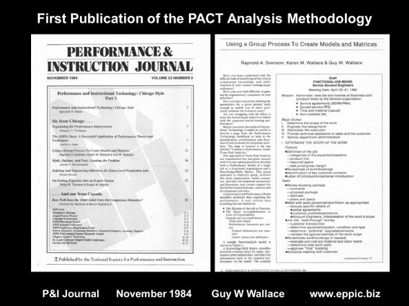 NSPI PIJ November 1984 Analysis Article
