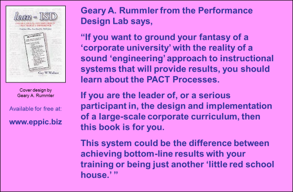 Lean-ISD Quote - Rummler