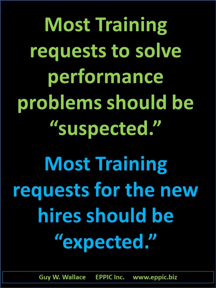 01 Training Requests