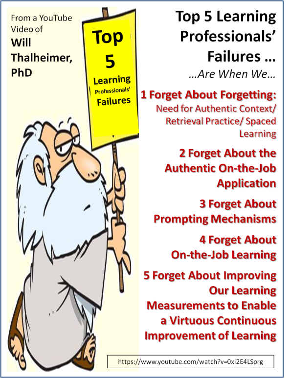 Top 5 LP Failures