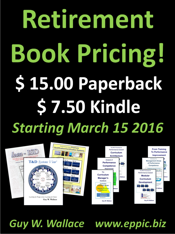 Retirement Book Pricing 2016-03