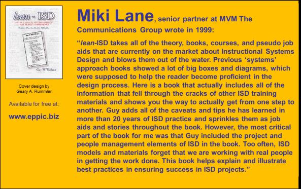 Lean-ISD - Lane