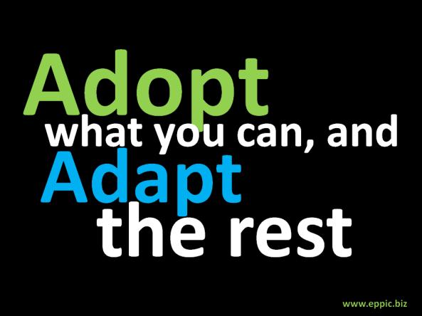 Adopt-Adapt