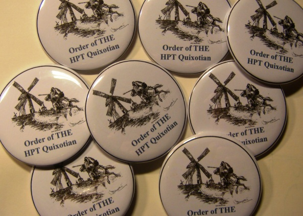 Order of THE HPT Quixotian Button