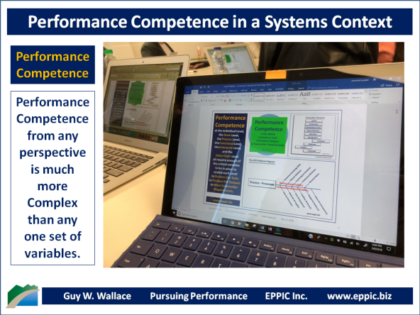 T&D: Performance Competence In A Systems Context – Part 1 | EPPIC ...