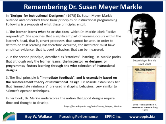 T D Remembering Dr Susan Meyer Markle 1928 2008 Eppic Pursuing Performance