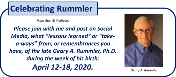 Celebrating Rummler 2020