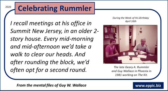Celebrating Geary Rummler 2020 - Post 06