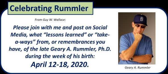 Celebrating Rummler 2020 2