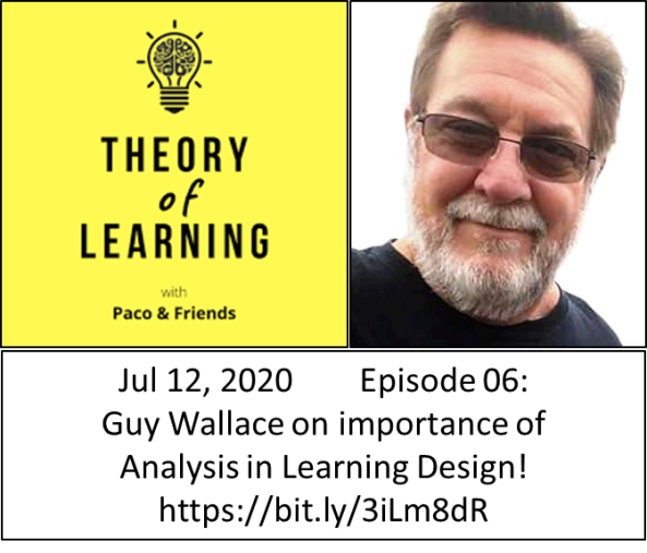 Theory of Learning 6 - Guy W Wallace