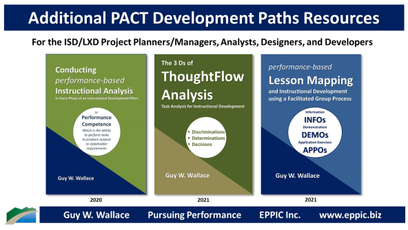 Additional PACT Development Path Resources